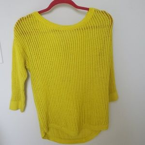 Gap yellow sweater